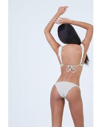 Made By Dawn Petal Low Rise Bikini Bottom - White