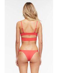 Tavik - Heather Bikini Bottom - Coral - Lyst