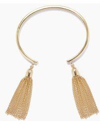 Lacey Ryan - Chain Tassel Bangle - Gold - Lyst