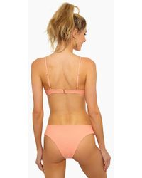 L*Space Pixie Hipster Bikini Bottom - Tropical Peach - Orange