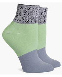 Richer Poorer - Celina Elastic Ankle Socks - Mint - Lyst