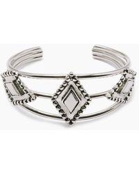 Vanessa Mooney The Brooklyn Diamond Cuff - Metallic