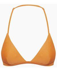 Tigerlily Lleo Sarah Triangle Bikini Top - Orange