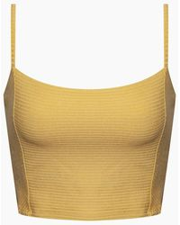 Amuse Society Baila Knit Crop Top - Multicolour