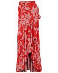 PATBO Wrap Skirt - Pink