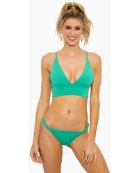 L*Space Olivia Bralette Bikini Top - Spearmint - Green
