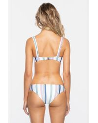 Tavik - Sawyer Underwire Bikini Top - Meadow Green Stripe - Lyst