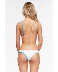 Tavik Jayden Color Block Hipster Bikini Bottom - Pink
