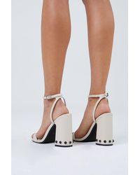 Senso Yella Chunky Heels - White