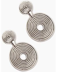 Vanessa Mooney The Braxton Earrings - Metallic