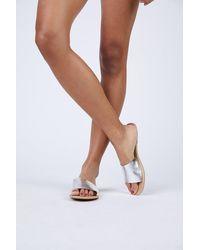 Matisse Cabana Leather Sandals - Multicolor