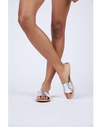 Matisse Silver Cabana Sandals - Multicolour