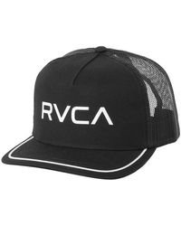 RVCA Title Trucker Hat - Black