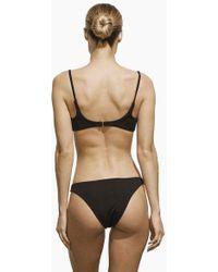 AMAIO SWIM - Irina Classic Bikini Bottom - Black - Lyst