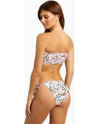 MINKPINK Aloha Tie Side Bikini Bottom - Multicolour