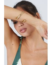 Soko - Twisted Dash Cuff Bracelet - Brass - Lyst