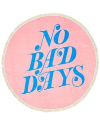 Ban.do No Bad Days All Around Giant Circle Towel - Pink