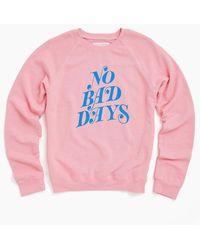 Ban.do No Bad Days Sweatshirt - Bubblegum Pink