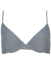 Acacia Swimwear Manhattan Mesh Top - Blue