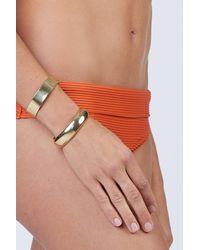 Soko Eris Stacking Cuff Bracelets - Brass - Multicolour