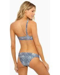 ViX Corales Wide Band Hipster Bikini Bottom - Blue