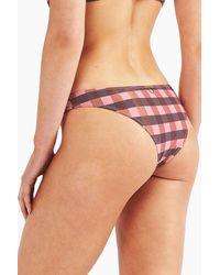 Tigerlily Jane Buzios Hipster Bikini Bottom - Pink