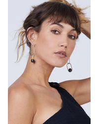 Soko Large Linked Sawa Drop Earrings - Black