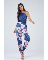 Fleur du Mal Floral Pyjama Trousers - Multicolour