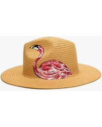 Onia Rosa Panama Hat - Brown