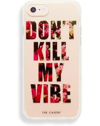 Casery Don't Kill My Vibe Iphone 6/7/8 - Red