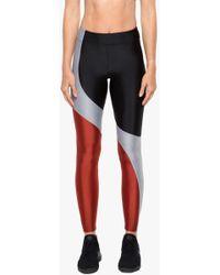 Koral Charisma High Rise Sprint Leggings - Black/rouge/silver