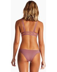 Vitamin A Neutra Side Cut Out Hipster Bottom - Pink