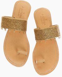 Aspiga Luna Sandals - Metallic