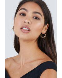 Soko Jewelry - Fania Mini Hoop Earrings - Brass - Lyst