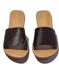 Matisse Black Cabana Sandals