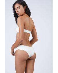 Mikoh Swimwear Bondi Boyshort Bikini Bottom - White