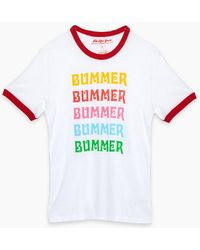 TOP KNOT GOODS - Bummer Ringer Tee - Lyst