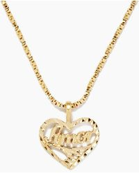 Vanessa Mooney The Amor Necklace - Metallic