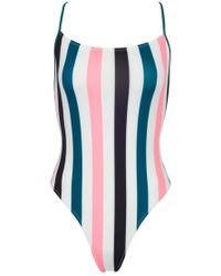 Solid & Striped The Chelsea One Piece Swimsuit - Black