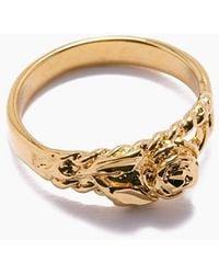 Vanessa Mooney The Rose Gold Ring - Gold - Metallic