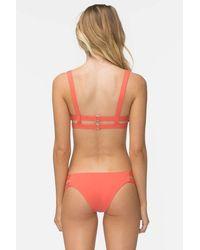 Tavik Chloe Low Rise Bikini Bottom - Red