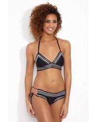 RINIKINI Angelina Crochet Cheeky Bikini Bottom - Multicolour