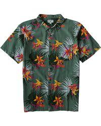 Billabong Sundays Floral Short Sleeve Shirt - Green