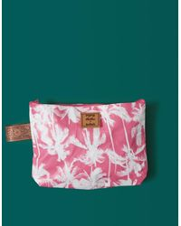 Billabong Kollab Pretty Palms Clutch - Pink