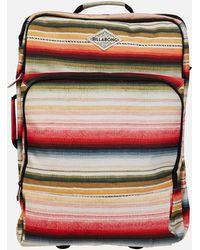Billabong Keep It Rollin Carry On Roller Bag - Multicolor