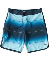 Billabong 73 Stripe Pro Boardshort - Blue