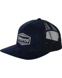 Billabong Flatwall Trucker Hat - Blue