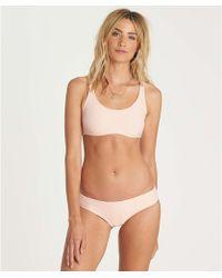Billabong   Tanlines Crop Tank Bikini Top   Lyst