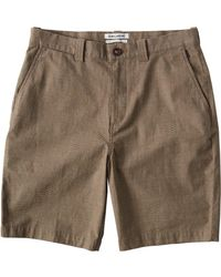Billabong Carter Yarndye Shorts - Natural