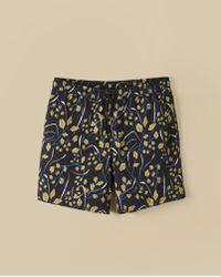Billy Reid - Sea Oat Swim Short - Lyst